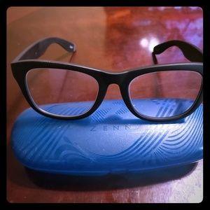 Zenni plastic frame glasses